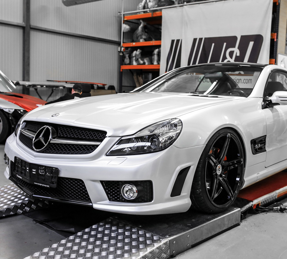 mercedes sl 500 r230 vollfolierung in oracal 970 perlmutt. Black Bedroom Furniture Sets. Home Design Ideas